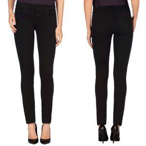 J Brand Super Skinny Mid Rise Dark Sanctify Jeans